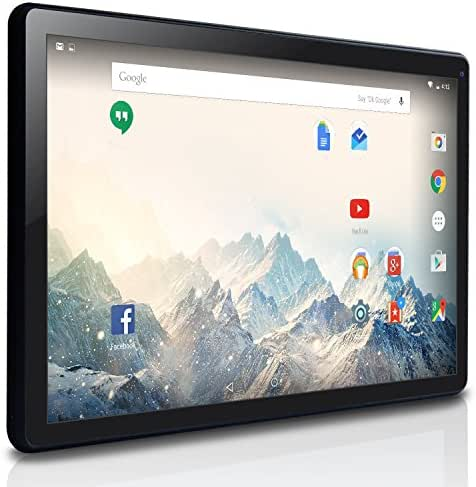 NeuTab 10.1 inch Quad Core Android 5.1 Lollipop OS Tablet PC 16GB Nand Flash Bluetooth Mini HDMI GPS Supported, 1 Year US Warranty, FCC Certified Black