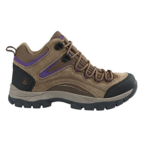 Pictures of Northside Womens Pioneer Mid Rise Leather Hiking 4