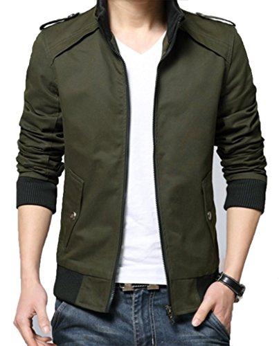 3XL TLW Smarty Slim Fit Biker Motorcyle Leather Jacket 100/% Real Leather Black