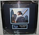 Evan Longoria Hand Signed / Autographed Tampa Bay Rays 8 x 10 Photo - Custom ...