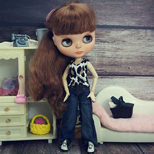 Shirt and Skirt Clothing for Blythe Doll 30 cm 1//6 Bjd Dolls Azone ICY Licca Doll leoglint Blythe Doll Clothes