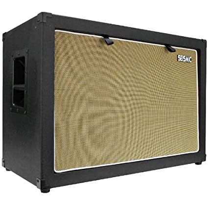 Seismic Audio 2x12 Guitar Speaker Cabinet