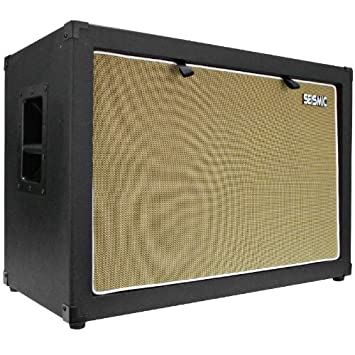 Amazon.com: Seismic Audio - 2x12 GUITAR SPEAKER CAB EMPTY - 7 Ply ...