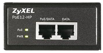 Zyxel Inyector PoE de puerto único 802.3at [POE12-HP]