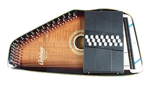 Autoharp | Oscar Schmidt OS11021FE Electric AutoHarp – The Mayflower by Oscar Schmidt