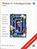 Windows 3.1 : A Developer's Guide, Richter, Jeffrey M., 1558512764