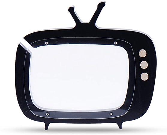 Ruiting Hucha de Madera con diseño de televisión, Color Rosa, Negro, Medium: Amazon.es: Hogar
