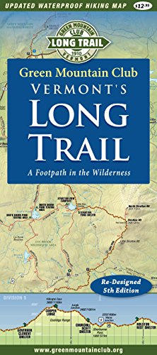 Hiking Trail Maps - Vermont's Long Trail: Map