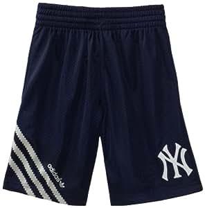 MLB Youth New York Yankees Celebration Short (Dark Navy, Small)