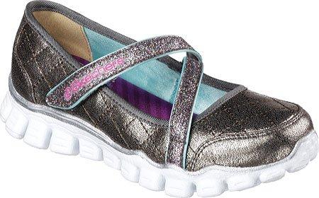 Skechers - Zapatillas para niña, Color Gris, Talla 27,5 EU M Niño Pequeño: Skechers: Amazon.es: Zapatos y complementos