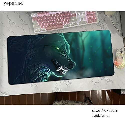 Mzzo Tapis de Souris de Jeu Tapis de Souris Mode Anime Bureau Mignon Populaire des Jeux PC Gamer Pad (Color : Mousepad 5, Size : Size 900x400x4mm)
