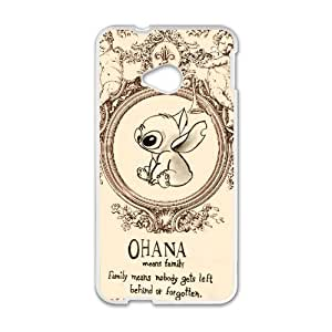 Ohana Means Family Quote Cell Phone Case for HTC One M7