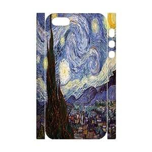C-Y-F-CASE DIY Van Gogh Painting Pattern Phone Case for iPhone 5,5S