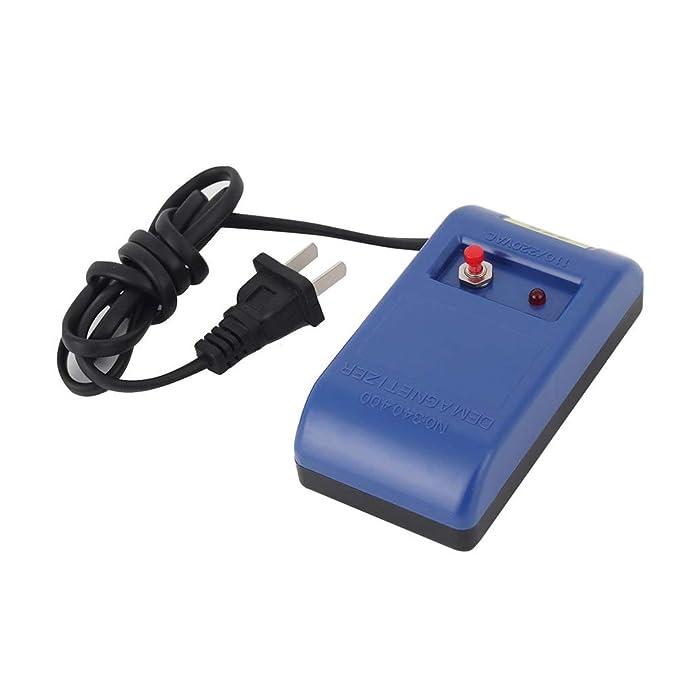 Godyluck D/émagn/étiseur Electrique De Montre Electrique Dispositif De D/émagn/étisation dOutils