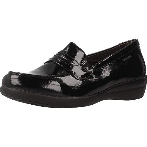Mocasines para Mujer, Color Negro, Marca STONEFLY, Modelo Mocasines para Mujer STONEFLY Venus II 70 Naplack Negro: Amazon.es: Zapatos y complementos