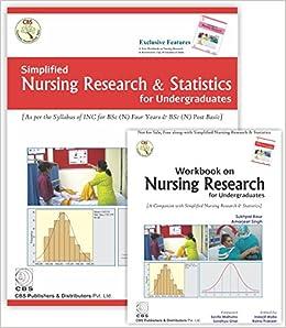 Book Simplified Nursing Research & Statistics for Undergraduates (with Workbook)