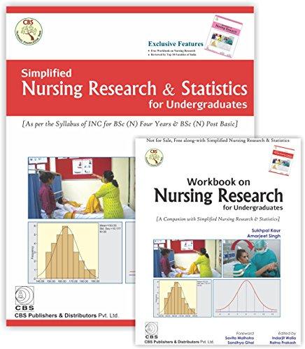 Simplified Nursing Research & Statistics for Undergraduates (with Workbook) -  Sukhpal Kaur, Paperback