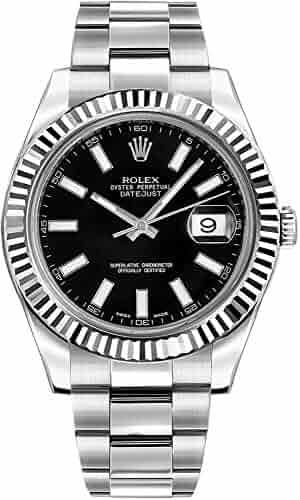 Rolex Datejust II 41 116334 Black Dial Men's Luxury Watch