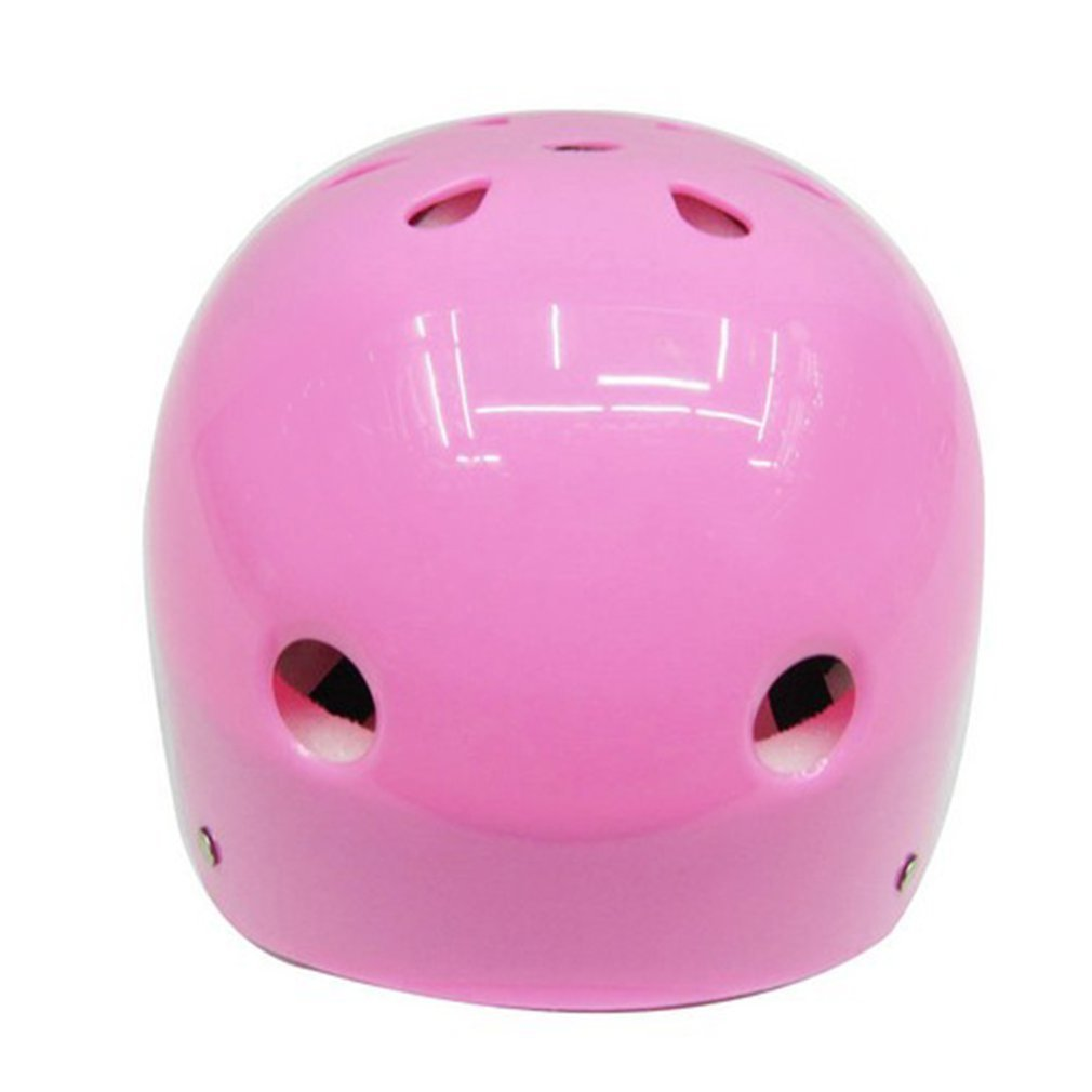 Yogatada Cute Shape Kids Roller Skating Helmet For Riding Scooter Outdoor Sports Pink