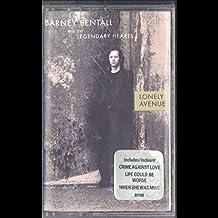 Barney Bentall: Lonely Avenue Cassette VG++ Canada Epic ET 80148