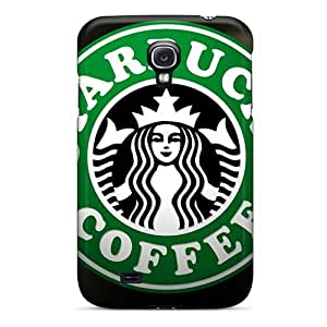 Excellent Hard Cell-phone Case For Samsung Galaxy S4 (OKU894mOAP) Support Personal Customs Trendy Starbucks Pictures