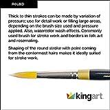 KingArt Original Gold 9000 Series , Premium Artist