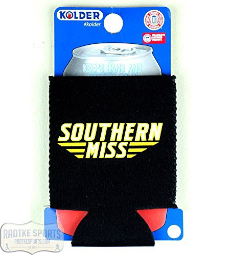 USM Golden Eagles Officially Licensed 12oz Neoprene Can Huggie - Southern Miss -
