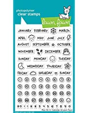 """Lawn Fawn Clear Stamps 4""""x6""""-plan On It: Calendar"""