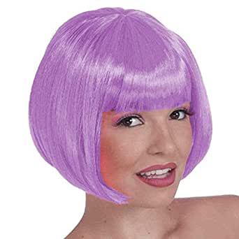 Purple Wigs - Light Purple Colored Wig
