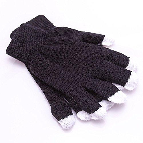 """Inferno"" Glove Set - GloFX Black Rave Gloves"