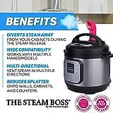 The Steam Boss - Steam Release Diverter   Kitchen