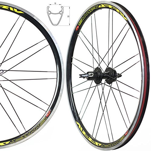 Mountain Bike Wheel Wheelset Shimano 8 9 10 Speed Compatible Disc or V Brake by Stars Rim