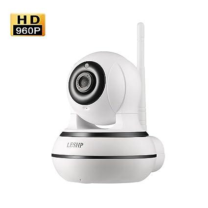 LESHP IP Cámara Video Vigilancia Wifi 960P HD, Detección de Movimiento, Cámara de Seguridad