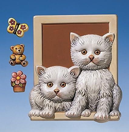 Relieve formas/moldes de fundición sin colada/yeso figuras con gatos y decoración piezas