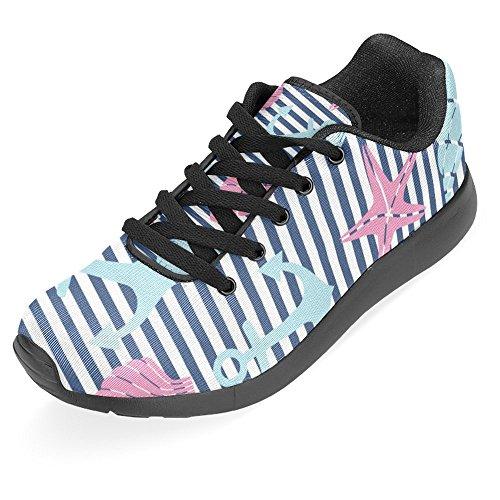 Interestprint Kvinna Jogging Kör Sneaker Lättvikts Gå Gång Casual Komfort Sports Löparskor Multi 12