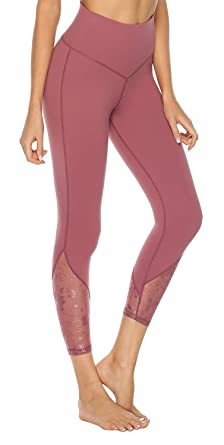 Joyspels Fashion Leggings For Women Embroidery Design Soft & Breathable Workout Pants by Joyspels