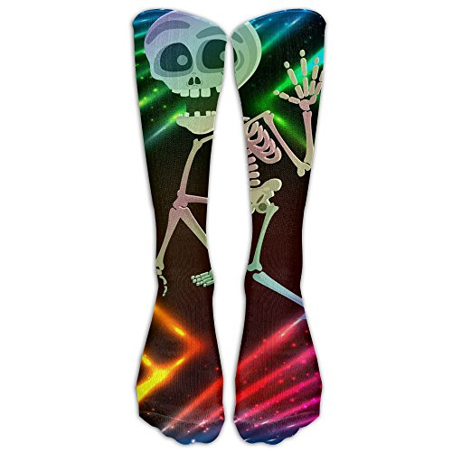 Halloween Skeleton Grphic Compression Socks Running Socks For Men & Women -