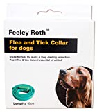 Dog Flea Treatment Collar - FeeleyRoth Uniqe Formula for Quick &Long- Lasting Protection.,Repel Flea & Tick Natural Essential Oil Added Flea And Tick Collar for Cats or Dogs (For Dogs)