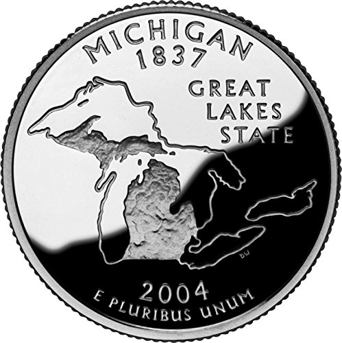 2004 Michigan - D State Quarter Roll