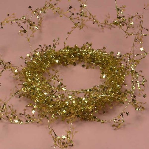wire star garland - 7