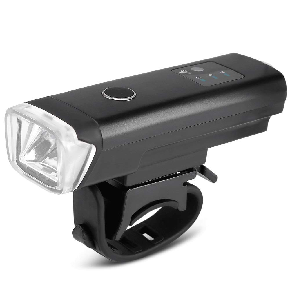 DFRgj Bike Light Set USB Rechargeable Headlight Taillight Combination LED Bicycle Light Set 4 Modes, IPX4 Waterproof Bicycle Light LED Bicycle Light Outdoor Equipment (Size : Bicycle Light) by DFRgj