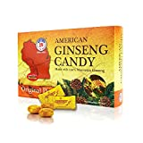 Hsu's Ginseng SKU 1042 | American Ginseng Candy | Cultivated American Ginseng from Marathon County, Wisconsin USA | 许氏花旗参糖 | 8oz Box, 西洋参, B01MQ3IZLZ For Sale
