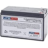 Vision CP1272 12V 7Ah Sealed Lead Acid - AGM - VRLA Replacement Battery