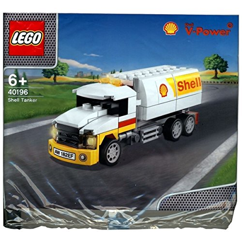 LEGO 2014 The New Shell V-Power Collection Shell Tanker 40196 Limited Edition Sealed (Gas Oil Truck)