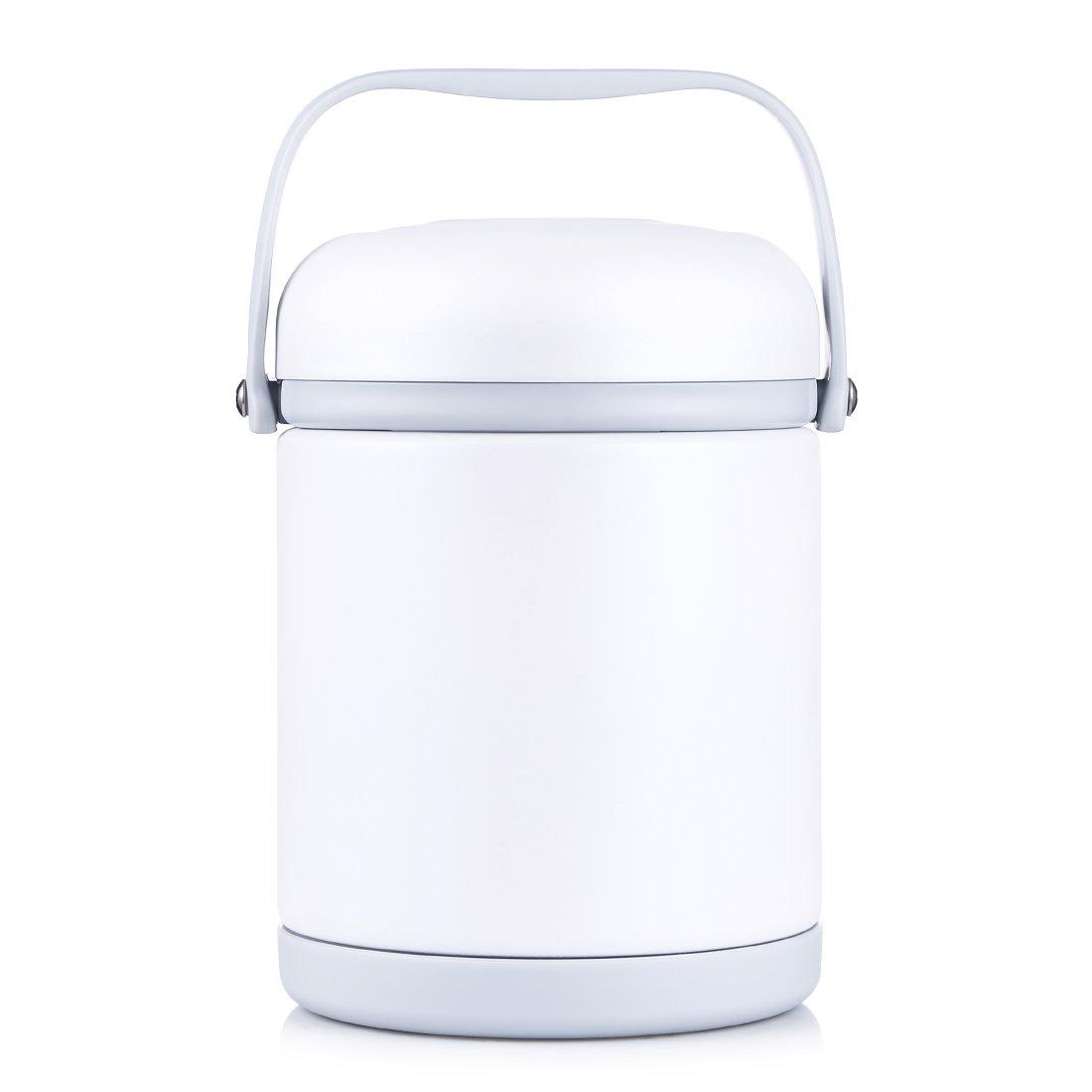 Oneisall GYBL116450ml Delizioso contenitore alimentare termico con cucchiaio ripiegabile e manico robusto, in acciaio inox per cibo e zuppa per bambini, 384g Gold 384g Gold Huizhou Weifan trading CO. ltd. GYBL116004