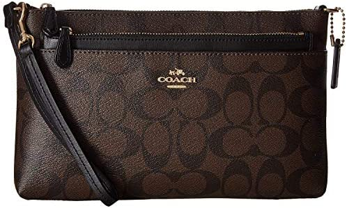 COACH Signature Pop Wristlet for Women Brown: Amazon com: UNOOLUV