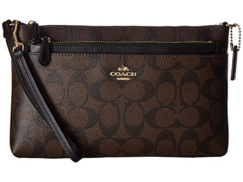 COACH Signature PVC Pop Pouch