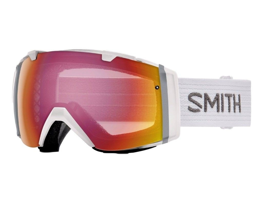 Smith I/O Snow Goggle White / Photochromic Red Sensor Mirror / Blackout One Size by Smith