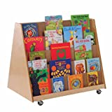 Mobile Double-Sided Book Display