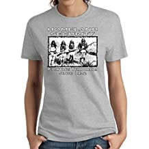 Native American Ladies Shirt Homeland Security Women's Missy S-3XL